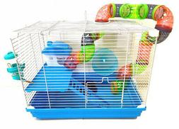 2 Levels Hamster Habitat Rodent Gerbil Mouse Mice Rats Anima
