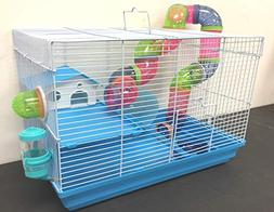 New 2 Levels Hamster Habitat Rodent Gerbil Mouse Mice Rats A