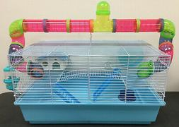 "23"" Large Habitat Hamster Rodent Gerbil Mouse Mice Cage Long"