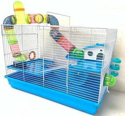 "24"" Large 3 Level Dwarf Hamster Habitat Rodent Gerbil Mouse"