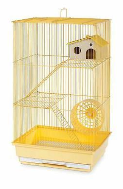 3-Story Small Animal Cage Color: Yellow
