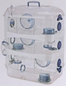 3 Color, New Sparkle 3 Levels Habitat Hamster Rodent Gerbil