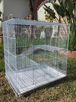 NEW 3 Levels Ferret Chinchilla Sugar Glider Rats Animal Cage