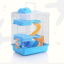 3-storey Pet Hamster Cage Luxury House Portable Mice Home Ha