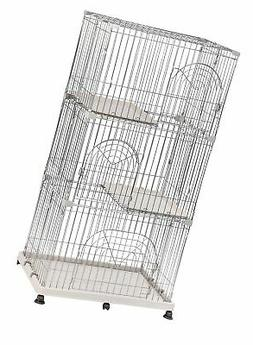 Iris 3 Tier Wire Cat PlayPen