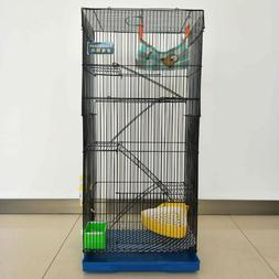 "36"" 5 Levels Large Cage for Chinchilla Degu Dwarf Hamster Fe"