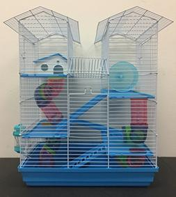 Large 5 Floor Twin Towner Habitat Syrian Hamster Rodent Gerb