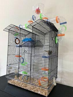 5 Floor Watching Tower Hamster Habitat Rodent Gerbil Mouse M