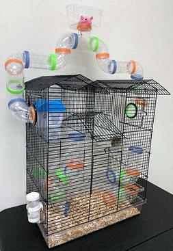5 Level High Watch Tower Dwarf Hamster Habitat Rodent Gerbil