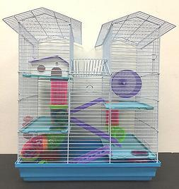NEW Large Twin Towers Dwarf Hamster Habitat Rodent Gerbil Mo