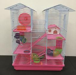 5 level large twin towner hamster habitat