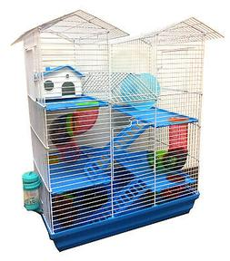 5 level large twin towner syrian hamster