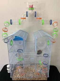 5 Level Watching Tower Dwarf Hamster Habitat Rodent Gerbil R