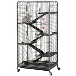 "52"" Animal Habitat Cage w/Stand and Feeder Ferret Chinchilla"