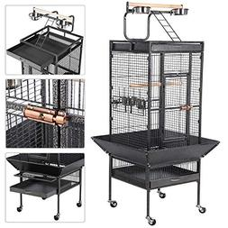 Yaheetech Wrought Iron Select Large Bird Cages for Parrots C