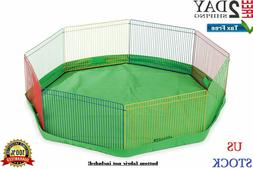 Small Animal Guinea Pig Pet Exercise Portable Playpen Panel