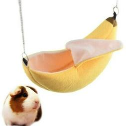 Banana Hamster House Bed Small Animal Warm Cage Nest Hamster