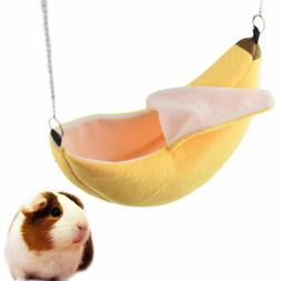 banana hamster house small animal cozy soft