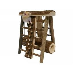 Rosewood Boredom Breaker Wooden Assault Course Small Animal