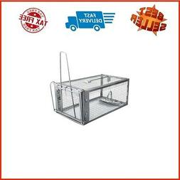 Gingbau Chipmunk Trap Humane Live Rat Trap Cage for Mice and