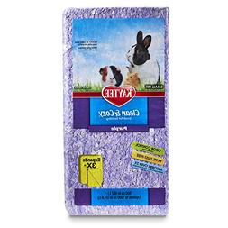 Kaytee Clean and Cozy Bedding, Purple, 500-Cubic-Inch Multi-