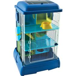 Ware Clear/blue Critter Universe Avatower Small Pet Home 13.