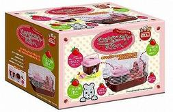 Compact cage for HAMSTER & GERBIL F/S Japan brand - strawber
