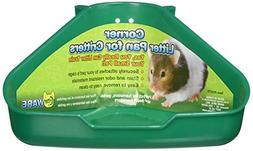 Corner Litter Pan for Critters Assorted Colors