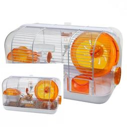 cristal hamster cage durable safe easy to
