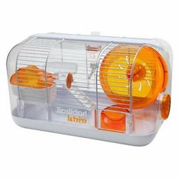 Habitrail Cristal Hamster Cage, Small Animal Habitat with Ha