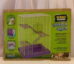 Critter Ware Chew Proof Four Story Hamster Cage New In Box 1