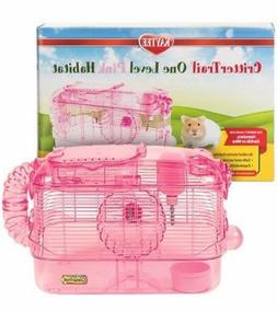 KAYTEE CritterTrail One Level Pink Habitat FREE SHIPPING