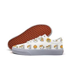 Cute Talking Hamster Women's Casual Shoes Sneakers Flat Cl