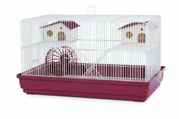Prevue Hendryx Deluxe Hamster and Gerbil Cage Bordeaux Red