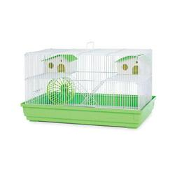 Prevue Hendryx Deluxe Hamster & Gerbil Cage - Lime Green PP-