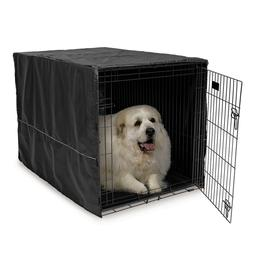 Dog Kennel Cover Large Crate Wire Cage Accessories Pet Hamst