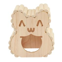 durable wooden houses small animals chinchillas den