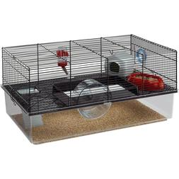 Ferplast Favola Hamster Cage Black NEW