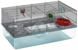 Favola Hamster Cage | Includes Free Water Bottle, Exercise W