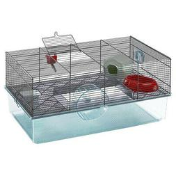 Ferplast Large Hamster Cage with Water Bottle, Food Dish and