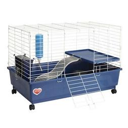 Kaytee My First Home Deluxe Guinea Pig 2-Level Cage with Cas