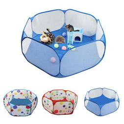 Foldable Small Pet Playpen Cage Hamster Rabbit Guinea Pig In