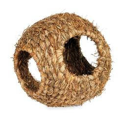 Large Grass Ball Toy Small Pet Guinea Pig Ferret Explore Nes