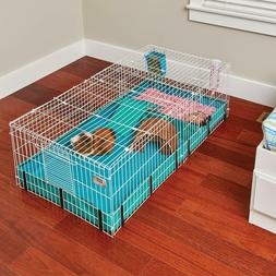 Guinea Habitat Plus Guinea Pig Cage by MidWest w Top Panel,