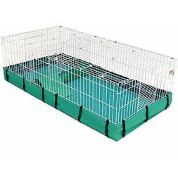 Guinea Habitat Plus Guinea Pig Cage by MidWest w/ Top Panel,