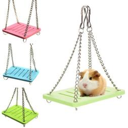 Guinea Pig Pet Small Animal Hamster Toy Swing Cage Accessori