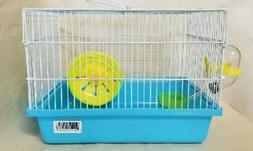 H166 DWARF HAMSTER CAGE COMES WITH FOOD DISH, WATER TUBE, AN