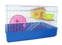 YML H810 2-Level Hamster Cage, Blue by YML