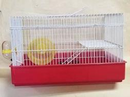 H810 -2 LEVEL HAMSTER CAGE COMES WITH WHEEL, FOOD DISH AND W