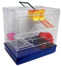 YML H820 3-Level Hamster Cage, Blue by YML